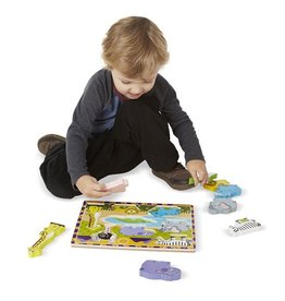 Melissa and Doug M&D Chunky Puzzle