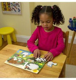 Melissa and Doug M&D Touch & Feel Puzzle