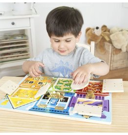 Melissa and Doug M&D Latches Board