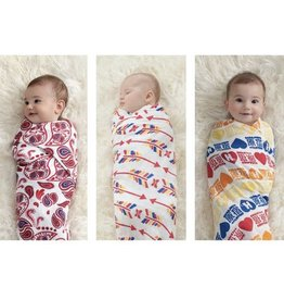 Aden + Anais A+A | (PRODUCT) RED Organic Swaddles