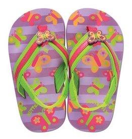 Stephen Joseph SJ Flip Flops- Butterfly