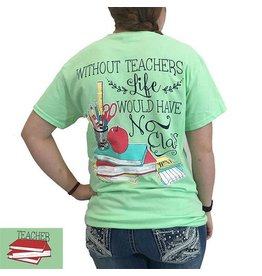 Southern Couture S/S Classy Teacher Tee