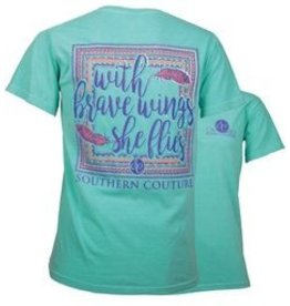 Southern Couture SC  S/S Tee- She Flies