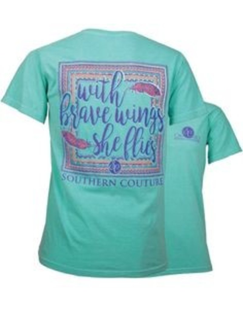 Southern Couture Southern Couture Short Sleeve She Flies Tee
