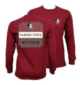 Southern Couture L/S Florida State Tee