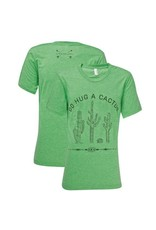 Southern Couture Southern Couture Short Sleeve Hug a Cactus Tee