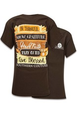 Southern Couture Southern Couture Short Sleeve Fall Sign Tee