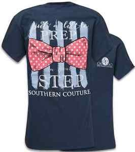Southern Couture Southern Couture Short Sleeve Prep in Your Step Tee
