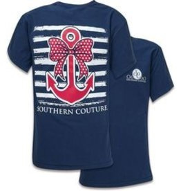 Southern Couture SC S/S Tee- Nautical Bow Anchor
