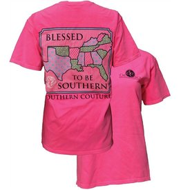 Southern Couture SC Youth S/S Tee- Blessed
