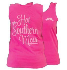 Southern Couture SC Tank- Hot Southern Mess