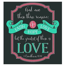 Southern Couture SC S/S Tee- Faith, Hope, Love
