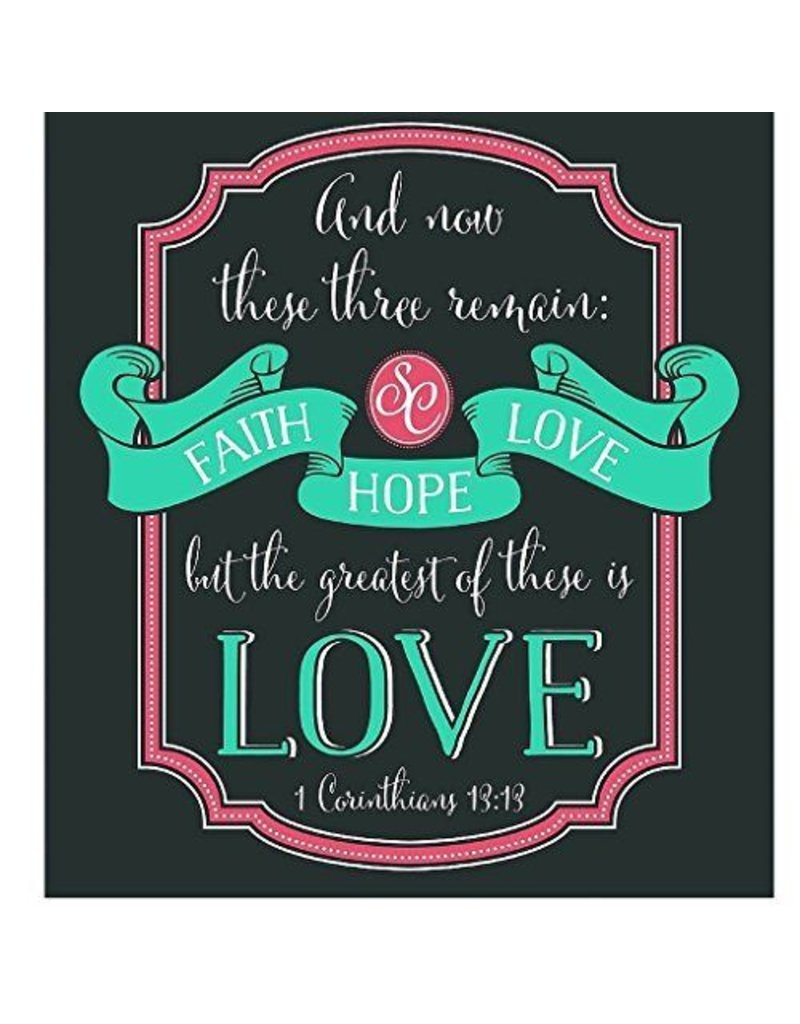Southern Couture Southern Couture Short Sleeve Faith, Hope, Love Tee
