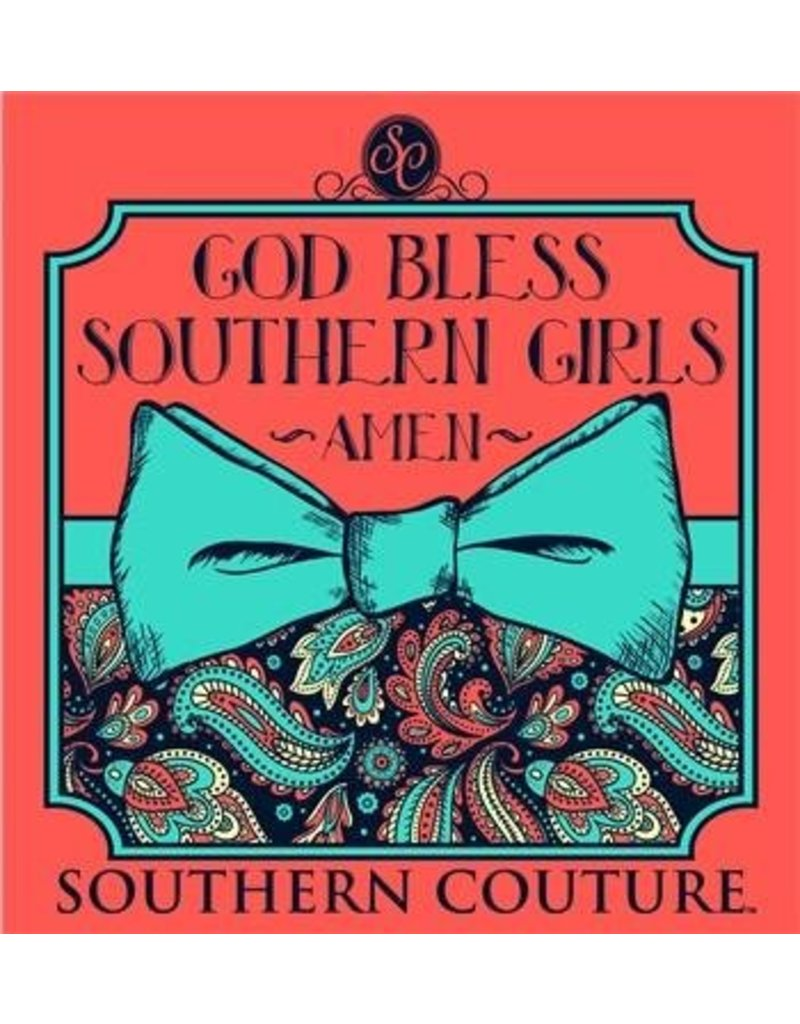 Southern Couture Southern Couture Short Sleeve God Bless Tee