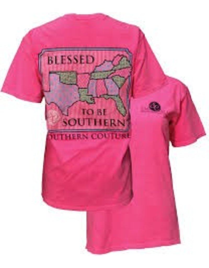 Southern Couture Southern Couture Short Sleeve Blessed Tee
