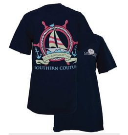 Southern Couture SC S/S Tee- Ship Wheel
