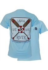 Southern Couture Southern Couture Short Sleeve Live, Love, River Tee