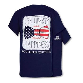 Southern Couture Southern Couture Short Sleeve Liberty Bow Tee