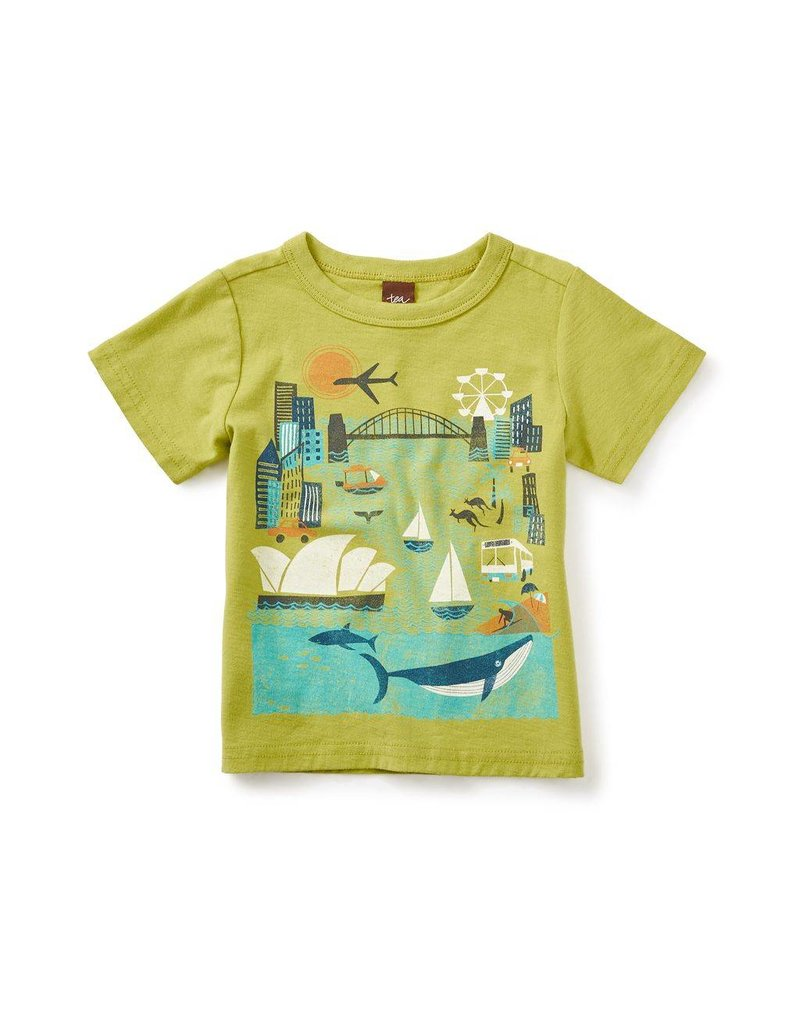 tea collection Tea Collection Sydney Harbor Graphic Tee