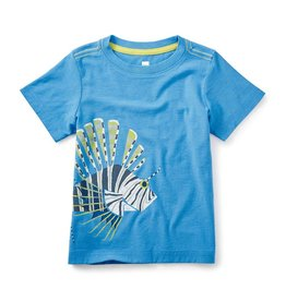 tea collection tc Lion Fish Graphic Tee