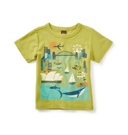 tea collection tc Sydney Harbor Graphic Tee