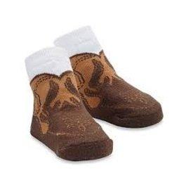 Mud Pie MP Cowboy Boot Socks