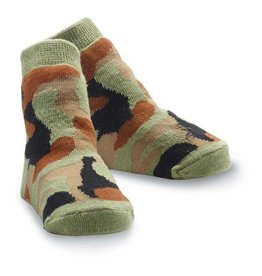 Mud Pie MP Camo Socks