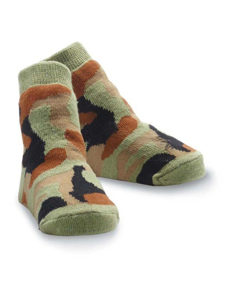 Mud Pie Mud Pie Camo Socks