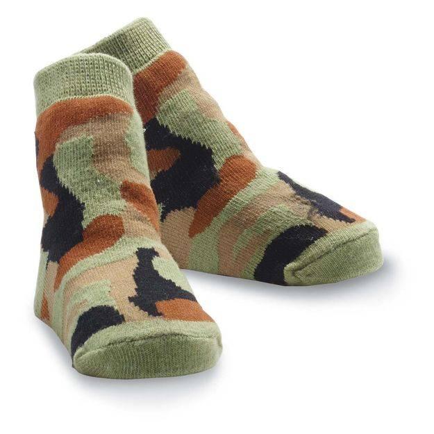 Mud Pie Mud Pie Camo Socks
