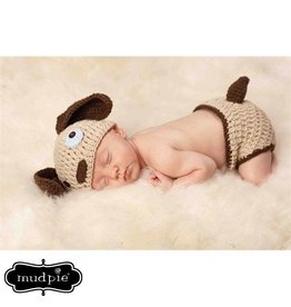 Mud Pie MP Puppy Newborn Photography Set