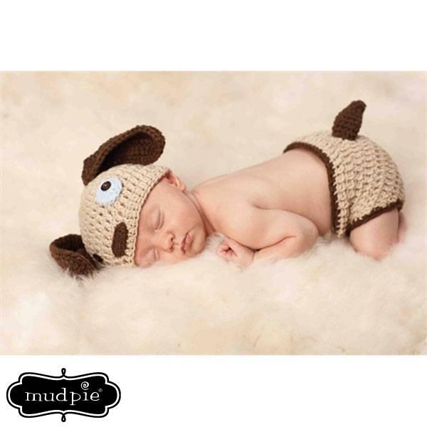 Mud Pie Mud Pie Puppy Newborn Photography Set