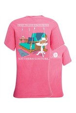 Southern Couture Southern Couture Shot Sleeve Tee- Porch Swings