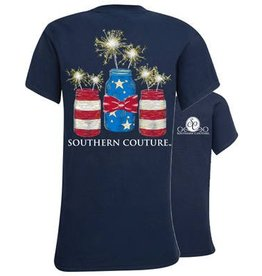 Southern Couture SC Yth S/S Tee- Mason Jar Sparklers