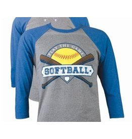 Southern Couture Softball BB Tee