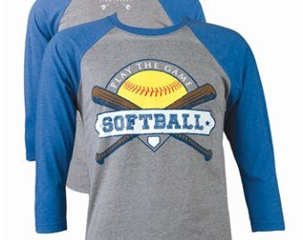Southern Couture Southern Couture Baseball Tee- Softball