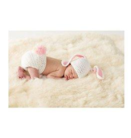Mud Pie MP Bunny Newborn Photography Set