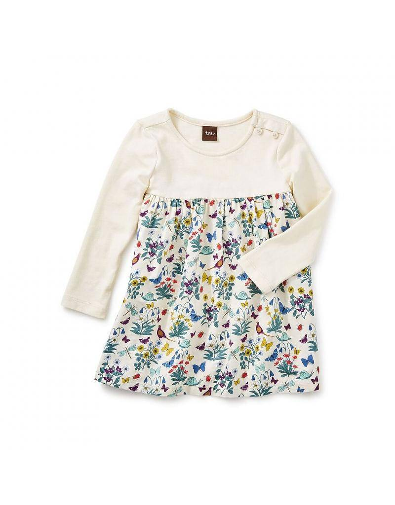 tea collection Tea Collection Heather Two-Tone Dress