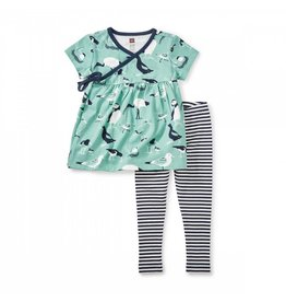 tea collection Seabirds Baby Outfit