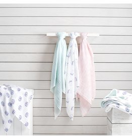 Aden + Anais Classic Swaddle Blankets- Thistle