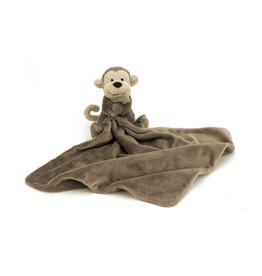 JellyCat JC Bashful Monkey Soother