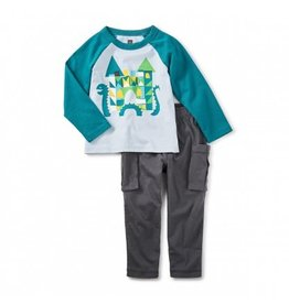 tea collection Loch Ness Baby Outfit