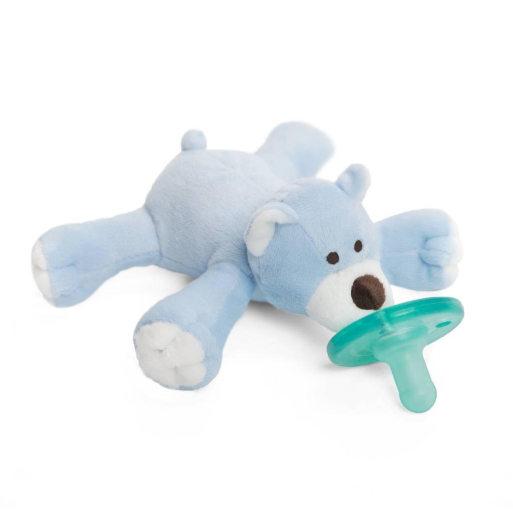 Wubbanub Wubbanub Pacifier- Blue Bear
