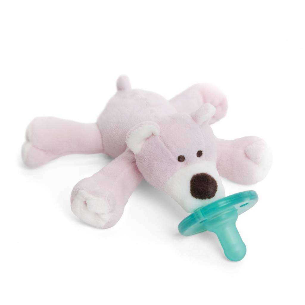 Wubbanub Wubbanub Pacifier- Pink Bear