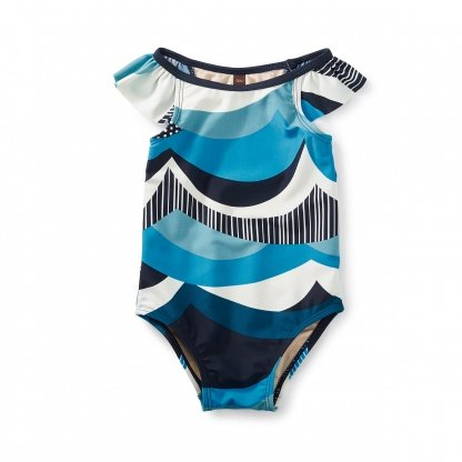 tea collection Tea Collection Make Waves Baby One-Piece