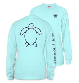 SS Simply Southern L/S Tee- Save