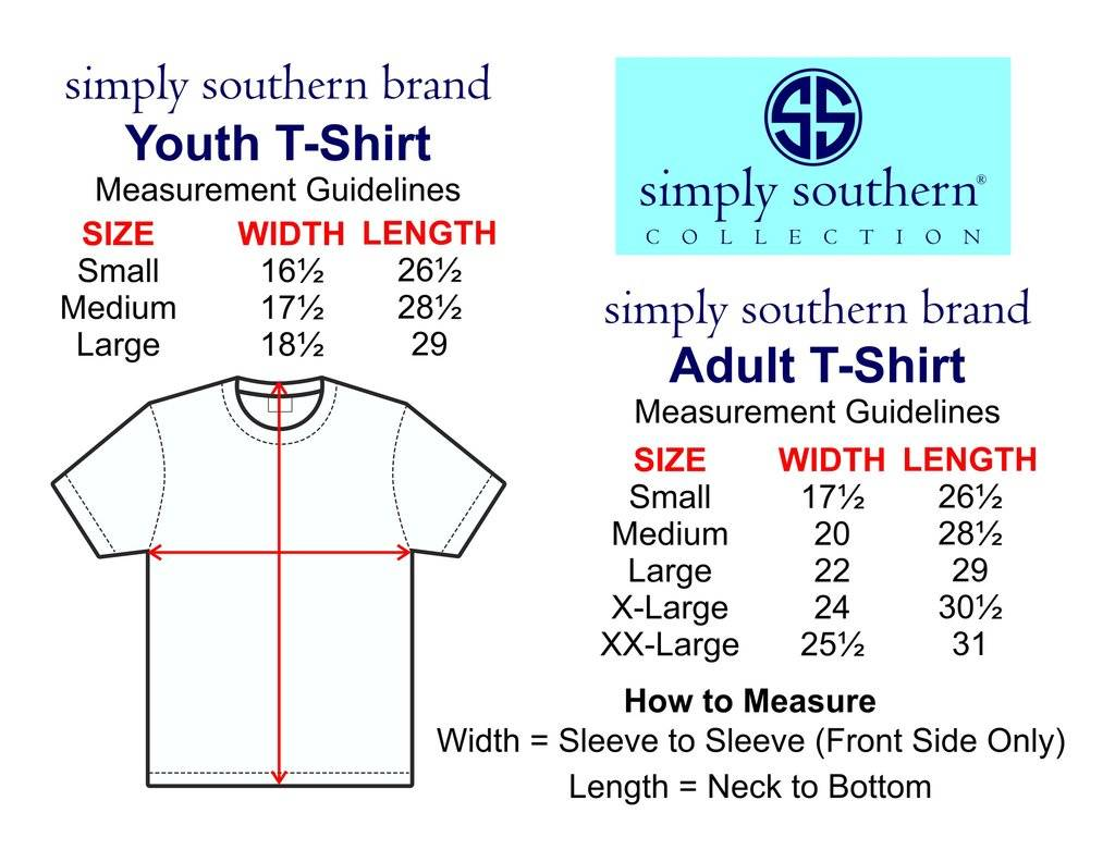 SS Simply Southern Youth S/S Tee- PreppyOcean