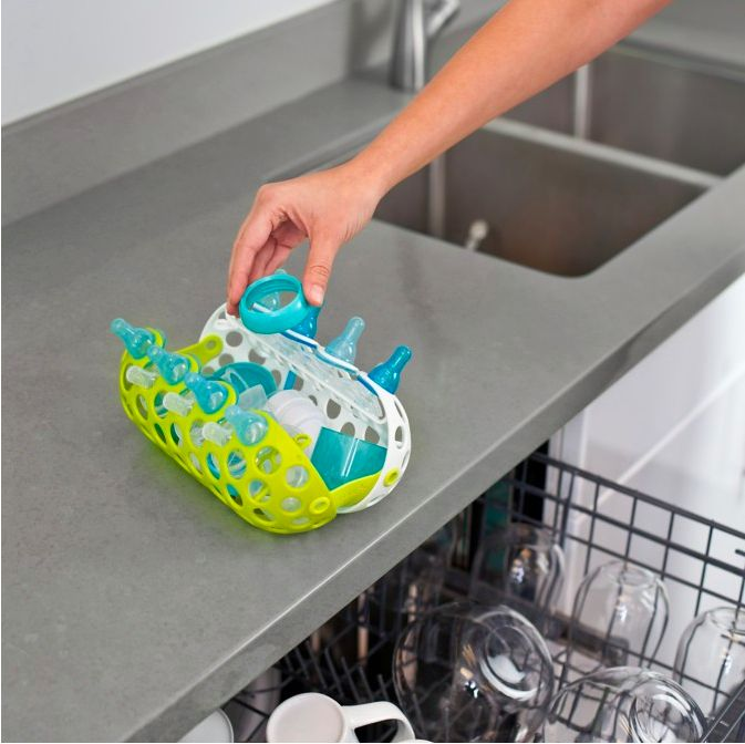 Tomy Clutch Dishwasher Bskt Grn/Wht