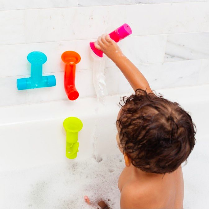 Tomy Pipes Building Bath Toy