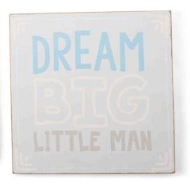 Mudpie DREAM BIG BOY PLAQUE