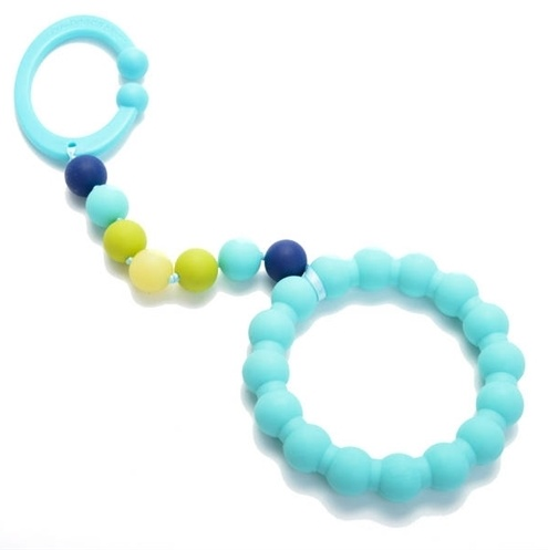 chewbeads Chewbead Stroller Toy Turqouise